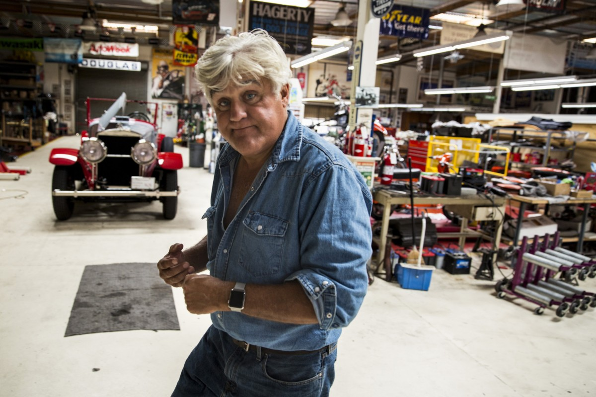 Talking cars with jay leno jesus behind the wheel for Garage garcia saint mammes