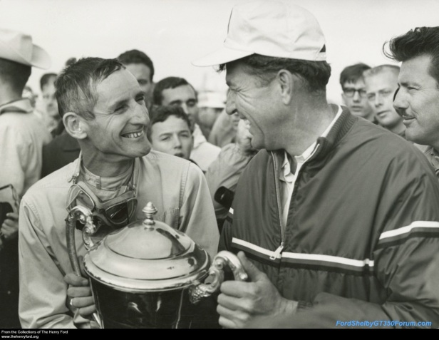 Ken miles and carroll shelby