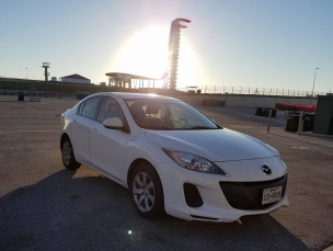 At COTA Race Track in Austin, TX
