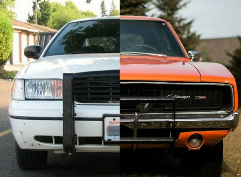 The Ford General Lee A Crown Vic Gets Transformed Into A Dodge