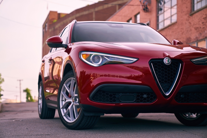 2018 Alfa Romeo Stelvio From Italy With Love Jesus Behind The Wheel
