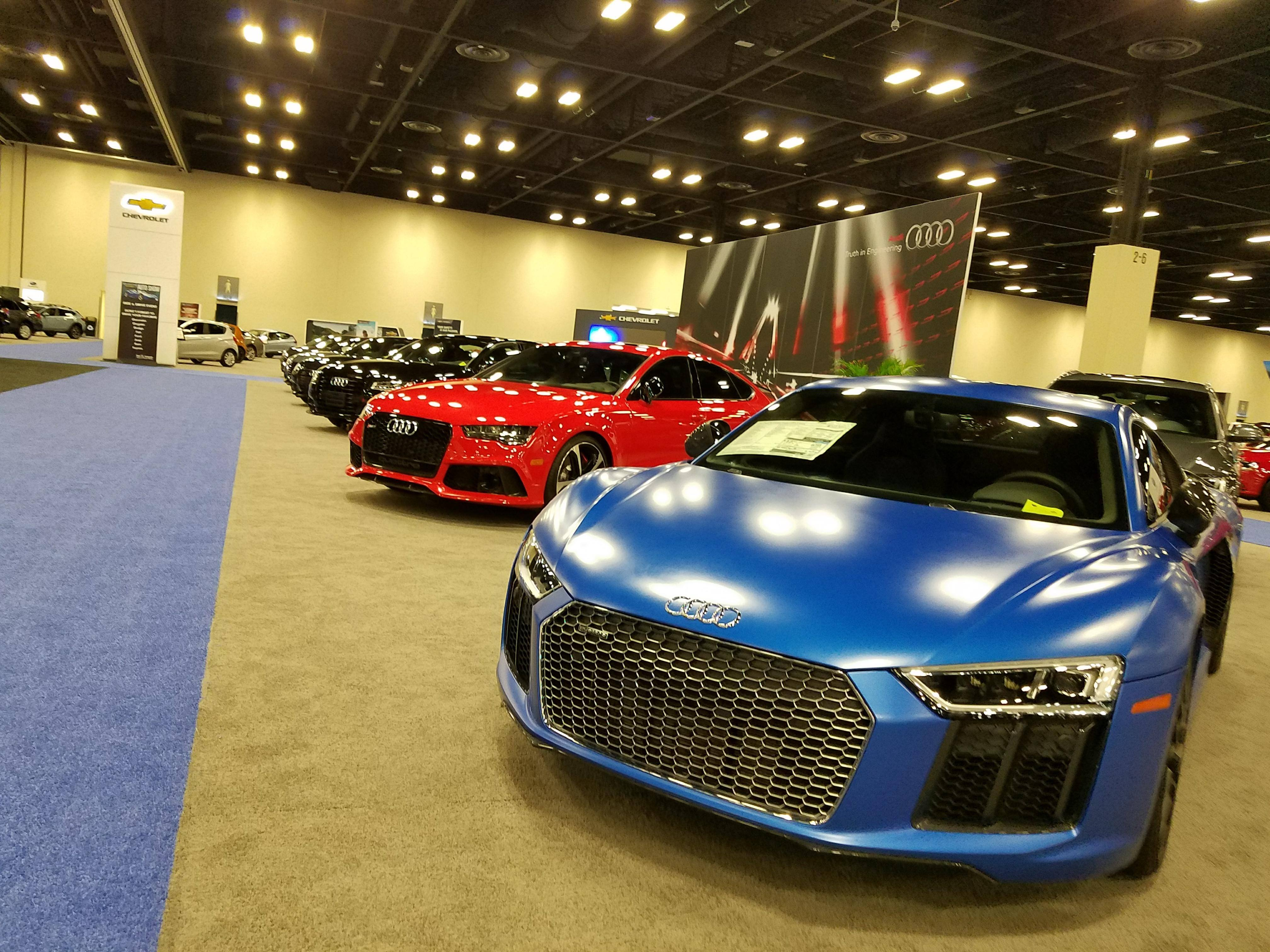 Audi Rs7 0-60 >> 2017 San Antonio Auto Show – What 2018 has to Offer ...