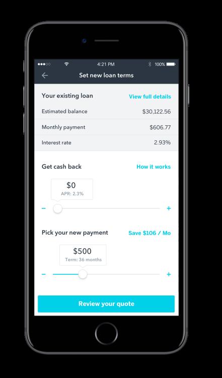 iOS Refinance