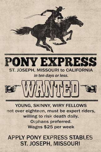 pony-express-replica-recruitment-advertisement