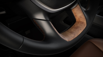 2019 Ram 1500 Laramie Longhorn – Wood Steering Wheel