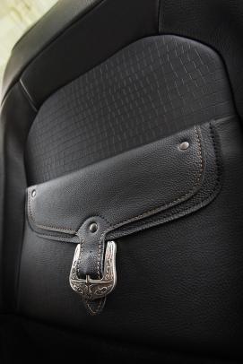 2019 Ram 1500 Laramie Longhorn – Seat Map Pocket Detail