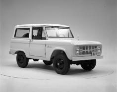 1966 Ford Bronco in Studio