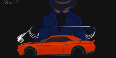 Auto Toonz Dodge Challenger Second Killing of the Muscle Car