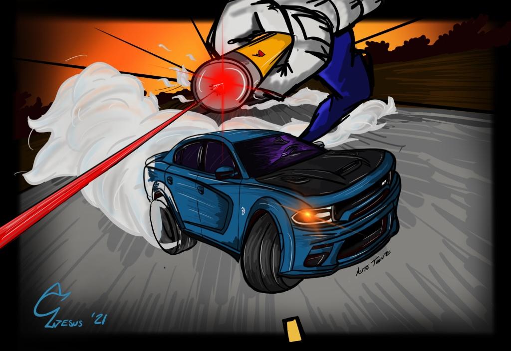 SRT Hellcat Redeye Laser Pointer