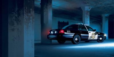 2006 Crown Victoria Police Interceptor movie scene stunt car